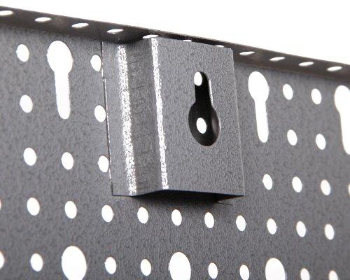 Ondis24 Werkzeugwand Lochwand aus Metall Werkstattwand mit Euro-Lochung 57 x 40 cm - 2