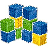 10 Pack Maze Cubes 3x3x3 for Kids Party Favors Game School Supplies Classroom Prizes,Cube Brain Teaser Puzzle Game Set for Children Adults