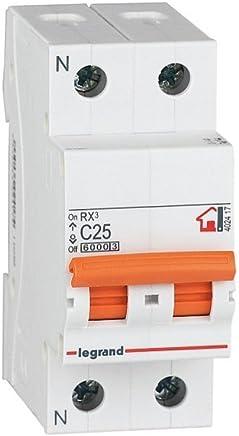 40 A Legrand 790402539/Interruptor Diferencial RX3,/4 Pines 30 mA