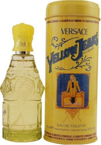 Yellow Jeans by Gianni Versace For Women. Eau De Toilette Spray 2.5-Ounces