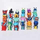 Yuirwe 24 unids/Set Dibujos Animados Mini Slugterra PVC Figuras de acción Juguetes muñecas Modelo para niños