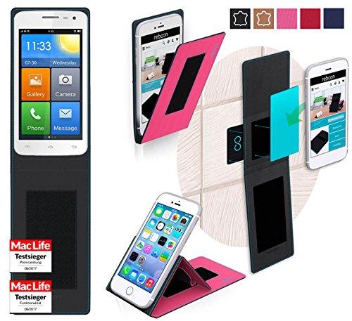 Hülle für Elephone G3 Tasche Cover Hülle Bumper | Pink | Testsieger