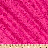 Kaffe Fassett::Aboriginal Dots 45cmx54cm:ケイフファッセット USAコットン (Shock Pink)