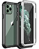 Nineasy iPhone 11 Pro Case, Full Body Clear Cover with