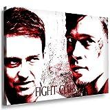 Boikal / Leinwand Bild Brad Pitt Fight Club Leinwanddruck,