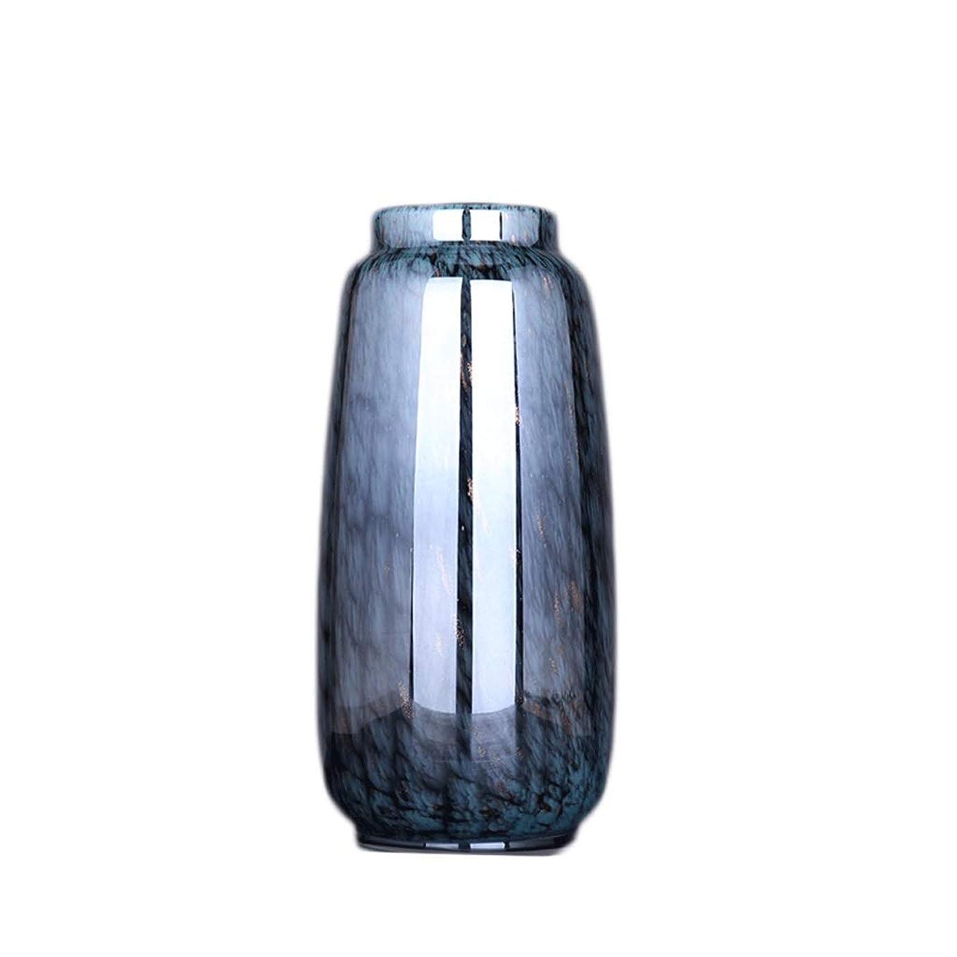 戦い改善する娘TXC- 透明ガラス花瓶フラワーアレンジメント水花家の装飾リビングルームの装飾 デコレーション (Color : C)