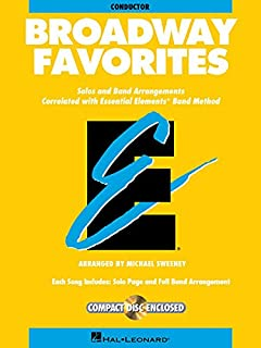 Essential Elements Broadway Favorites: Conductor