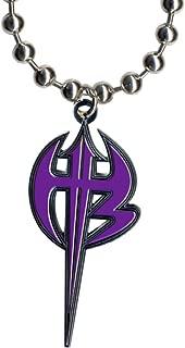 WWE Jeff Hardy Purple Logo Pendant