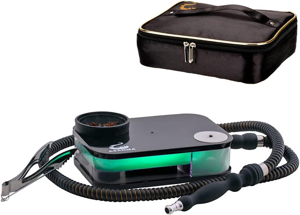 Travel Recommended Hookah Acrylic Flat Box Ranking TOP20 Set S Portable Kit