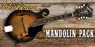 Washburn 8 String Mandolin, Right (M3EK-A)