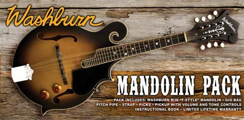 Washburn 8 String Mandolin, Right (M3EK-A)