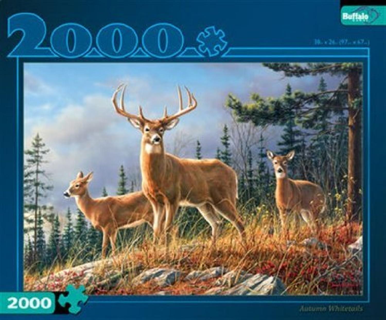 hasta 60% de descuento Buffalo Juegos Autumn Autumn Autumn blancotails 2000 Piece Puzzle (Artist - Hautman) by  suministro directo de los fabricantes