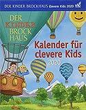 Der Kinder Brockhaus Kalender für clevere Kids Brockhaus. Tischkalender 2020. Tageskalendarium. Blockkalender. Format 12,5 x 16 cm - Harenberg