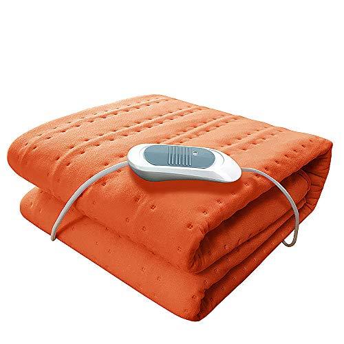 NCBH elektrisch personendeken van airconditioning, uitgerust met een matras met 3 temperatuurniveaus, geschikt voor gebruik in slaapbanken, B
