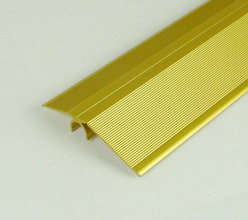 Alfer © Niveauausgleichs Profil Aluminium Messing 56mm - 1m