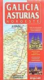 Mapa Galicia-Asturias (Noroeste) (MAPAS DE CARRETERAS)