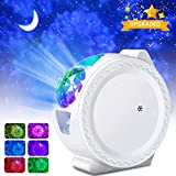 Star Projector - Star Night Light Projector, 3 in 1 Nebula Galaxy Light for Room Decor, 6 Lighting Effects, 4H Auto-Off, Voice Control, Best Birthday Gift for Kids