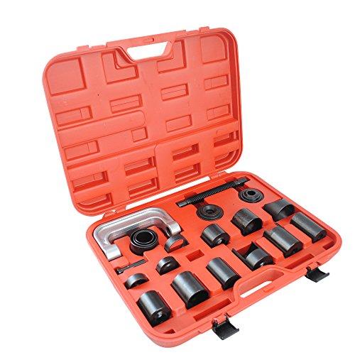 CCLIFE Universal Kugelgelenk Ausdrücker Traggelenk Abzieher Montage Werkzeug Set 21 tlg