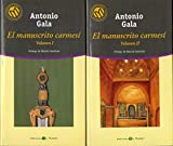 EL MANUSCRITO CARMESÍ. 2 Vols. Pról. de Manolo Sanlúcar.