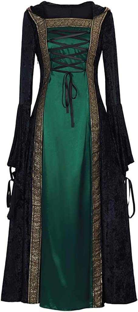CosplayDiy Women's Limited Phoenix Mall time sale Medieval Renaissance Cosplay Costu Gown Retro