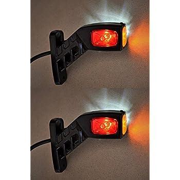 Anhanger Lkw Led Ruckleuchten Ohne K 12 24 Volt Paar Anhaenger Beleuchtung