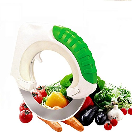 Circular Rolling Knife Stainless Steel, Universal Kitchen Knife, Round Knife Kitchen Cutter with...