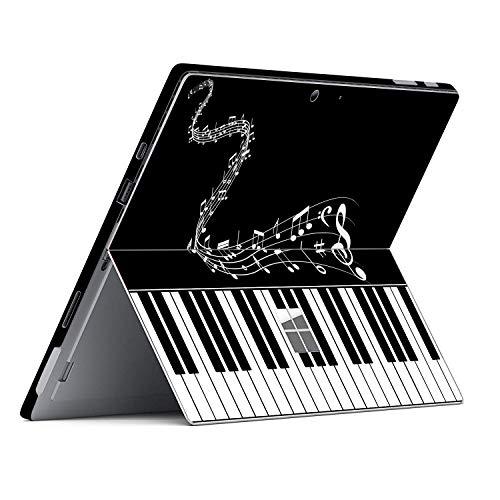 Piano Quotes Decal Sticker voor 12,3 inch Microsoft Surface Pro 7 (2019 uitgebracht) 12,3 inch Anti-Scratch Vinyl Beschermende Cover Huid, for 12.3