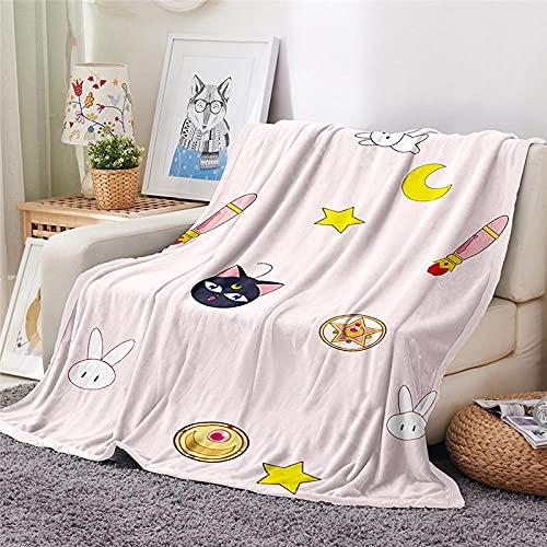 Mantas para Sofa Batamanta Mujer de Franela y Sherpa Manta Bebe Sofa Mantas con Estampados para la Cama y el Sofá 150x200 cm Cómics para niños