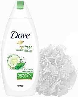 Dove Go Fresh Nourishing Body Wash 190 ml with Free Loofah