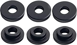 DEWHEL Shifter Cable Bracket Bushings For Ford FOCUS ST & RS 2013-up 6 Speed Manual Transmissions Black