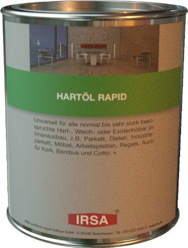 IRSA Hartöl Rapid, farbloses Holz Öl, 2,5 Liter, schnell trocknend