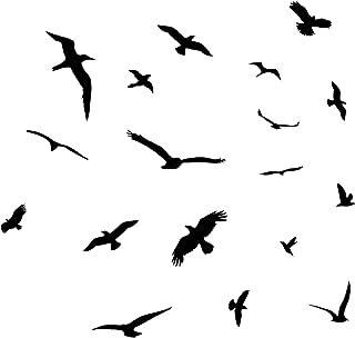 Best flock of birds wall decor Reviews