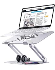 """$22 » Skrebba Laptop Stand, Laptop Riser with Heat-Vent to Elevate Laptop, Adjustable Ergonomic Computer Stand Holder for Laptop, Compatible with MacBook, Air, Pro All Laptops 10-17"""""""