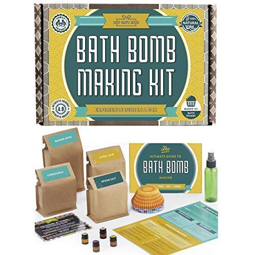 Bath Bomb Making Kit with 100%...