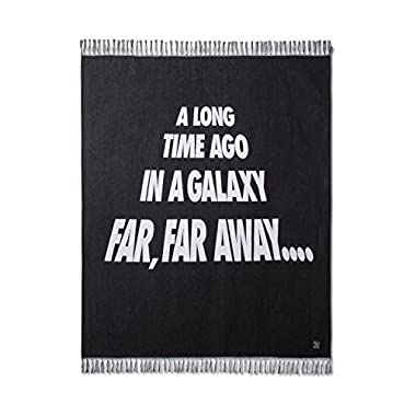 Star Wars Galaxy Black Throw Blanket (50 x60 )