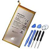XITAIAN 5000mAh 19.0Wh HB3873E2EBC Repuesto Batería para Huawei Mediapad X1 X2 7.0 Inches / 7D-501U 7D-501L 7D-503L 7D-503LT GEM-701L GEM-702L GEM-703L with Tools