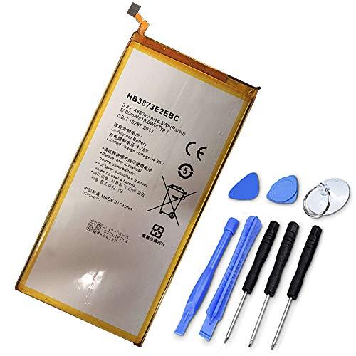 XITAI 5000mAh 19.0Wh HB3873E2EBC Ersatz Akku für Huawei Mediapad X1 X2 7.0 Inches / 7D-501U 7D-501L 7D-503L 7D-503LT GEM-701L GEM-702L GEM-703L with Tools MEHRWEG