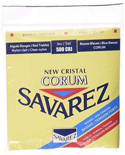 Savarez snaren voor klassieke gitaar New Cristal Corum set 500CRJ standaard/High Tension