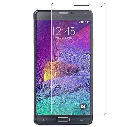 Vaxson 4 Unidades Protector de Pantalla, compatible con Samsung Galaxy Note4 SM-910G Note 4 N910X N910F [No Vidrio Templado] TPU Película Protectora