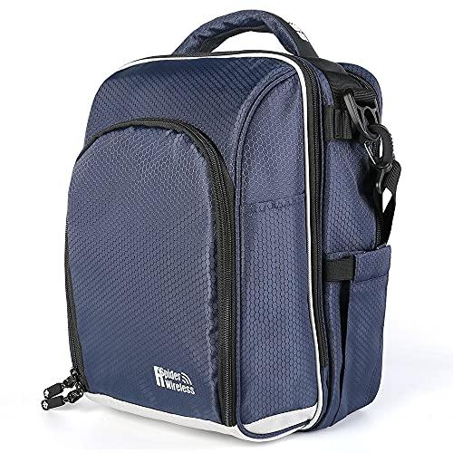 Premium Pilot Bag, Flight Bag, Aviation Bag (Navy Blue)