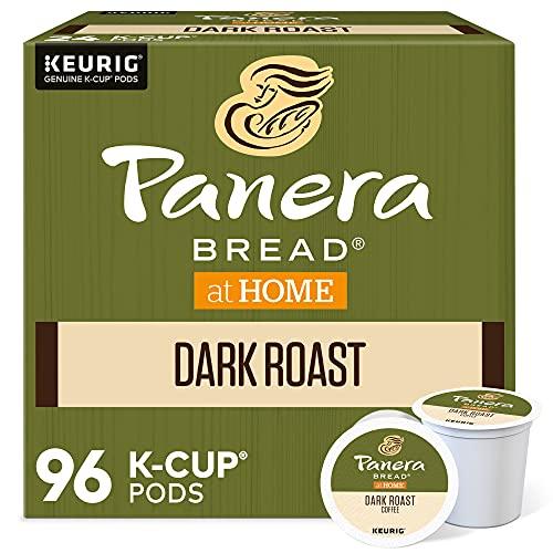 Panera Bread Dark Roast Coffee, Single-Serve Keurig K-Cup Pods, 100% Arabica Coffee, 96 Count