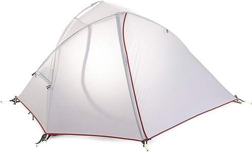 AX-outdoor products Tente Unique Camping auvent Portable extérieur Double imperméable auvent Tissu à Carreaux Bleu Ciel 210  97cm