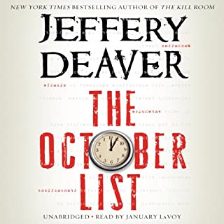 The October List audiobook cover art