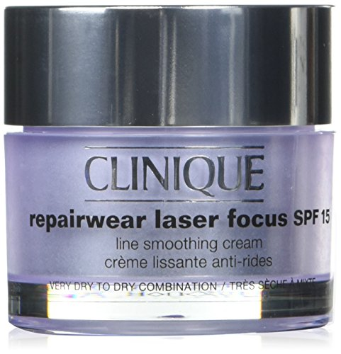 Clinique Repair Wear Laser Focus Line Smoothing Cream SPF 15, 1.7 Ounce (I0106656)