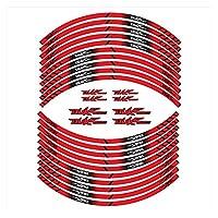 bazutiwns オートバイのタイヤステッカーの内側の車輪の反射装飾デカールKTM Duke790 HSLL (Color : 2)