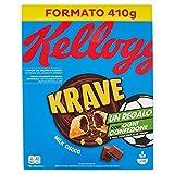 Kellogg's Choco Krave, Cioccolato al Latte, 410g...