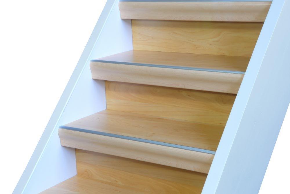 Escaleras Griffshop72 montar para una recta Escaleras hasta 1100 mm de ancho en diseño de manzana, verde manzana, 3 Stufen: Amazon.es: Hogar