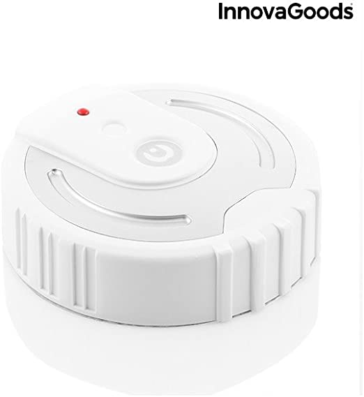 Unisex Erwachsene Schwarz InnovaGoods IG115281 Hydratationsg/ürtel Einheitsgr/ö/ße