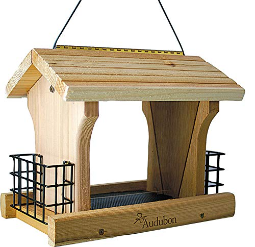 Woodlink NARANCH3 12-Inch Audubon Cedar Ranch Wild Bird...