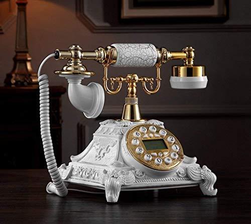 HYLH Telefonapparate, alte Telefon europäische Mode kreative übersicht/Telefon/top/Taste 25,5x17,5 cm x Produkt Handy (Farbe: # 6)